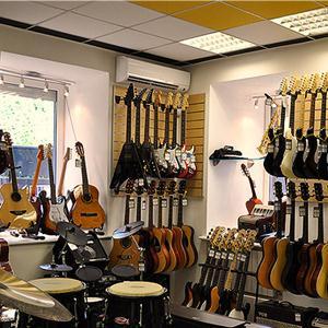 Музыкальные магазины Оханска