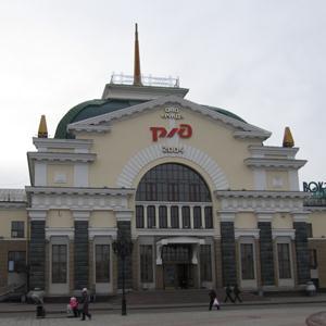 Железнодорожные вокзалы Оханска
